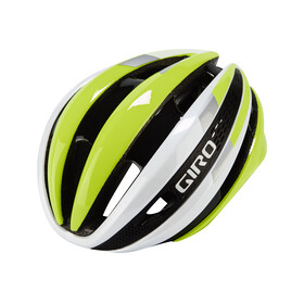 Giro Synthe Helmet white/highlight yellow